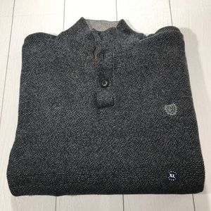 CHAPS Men's Blue Gray Pullover Sweater Size XL